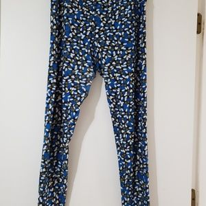 Bees on Blue Leggings
